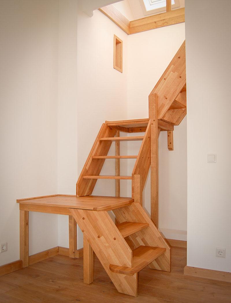 Holztreppe auf Maß