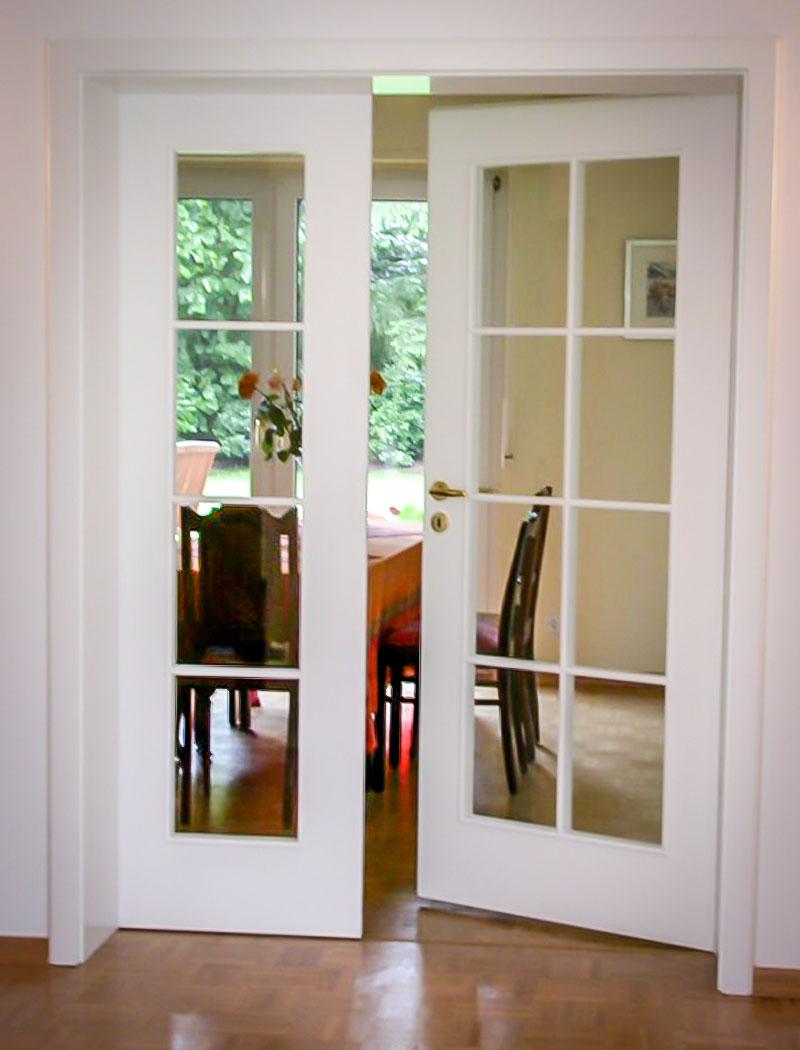 Stilvolle Zimmertüre